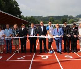 Náchodský stadion Hamra otevřel své brány veřejnosti za účasti olympioniků
