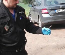 """Městští strážníci se v Náchodě také zapojili do akce """"Jehla"""""""