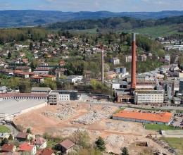 Město Náchod odkoupí pozemky v areálu bývalé Tepny