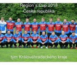 Královéhradecký KFS v barvách Česka postoupil na finálový turnaj Region´s Cupu. Podíl na tom mají i hráči FK Náchod a FK Jaroměř